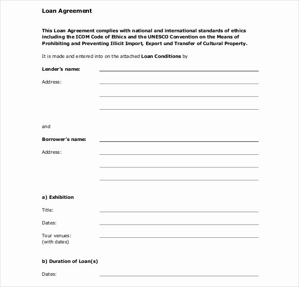 Loan Contract Template Word Elegant Fake Contract Maker