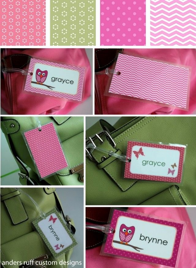 Luggage Tag Insert Template Awesome Free Printable Diy Bag Tag Template – Great for Back to