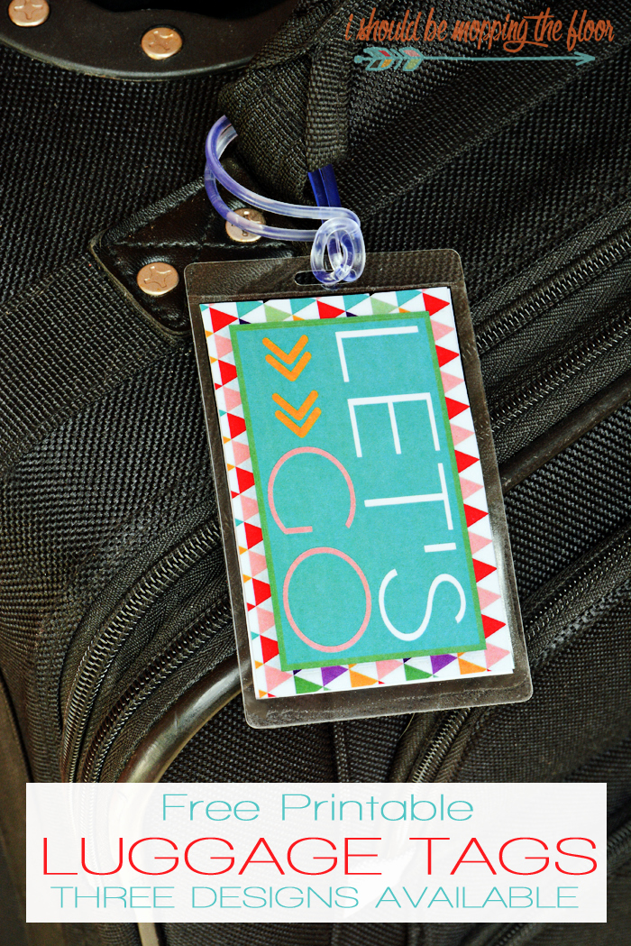 Luggage Tag Insert Template Beautiful Free Printable Front & Back Luggage Tags