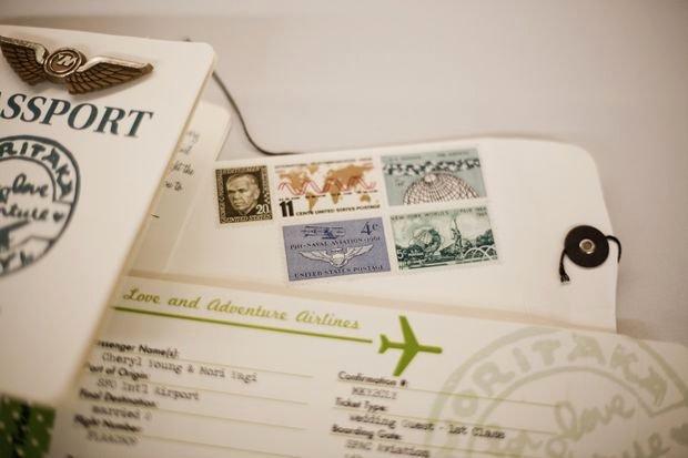 Plane Ticket Invitations Passport Programs and L