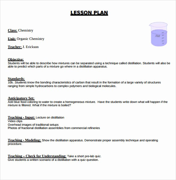 Madeline Hunter Lesson Plan Template Awesome Sample Madeline Hunter Lesson Plan – 11 Documents In Pdf