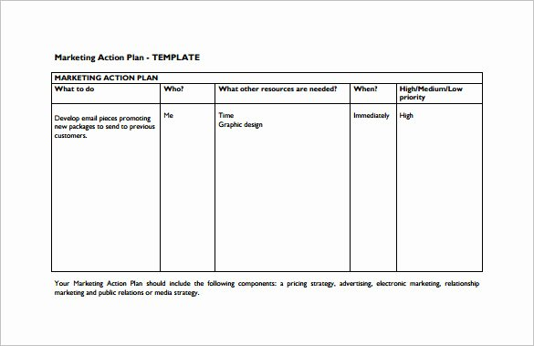 Marketing Action Plan Template Beautiful 9 Marketing Action Plan Templates Doc Pdf