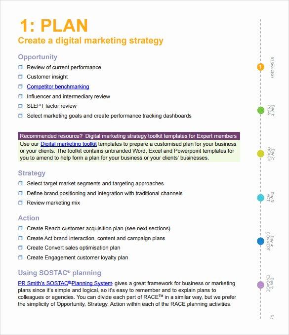 Marketing Action Plan Template Elegant Sample Marketing Action Plan Template 14 Documents In Pdf