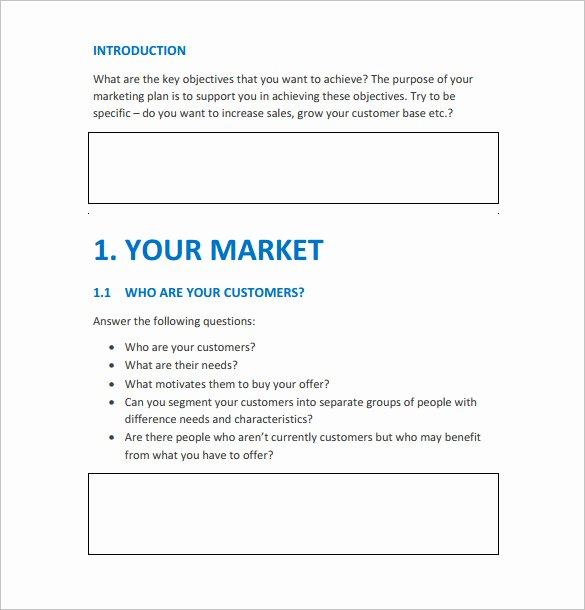 Marketing Action Plan Template Fresh 9 Marketing Action Plan Templates Doc Pdf