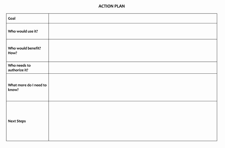 Marketing Action Plan Template Lovely 58 Free Action Plan Templates & Samples An Easy Way to