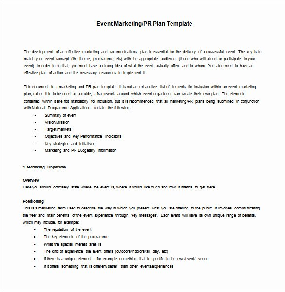 Marketing Action Plan Templates Beautiful 9 Marketing Action Plan Templates Doc Pdf