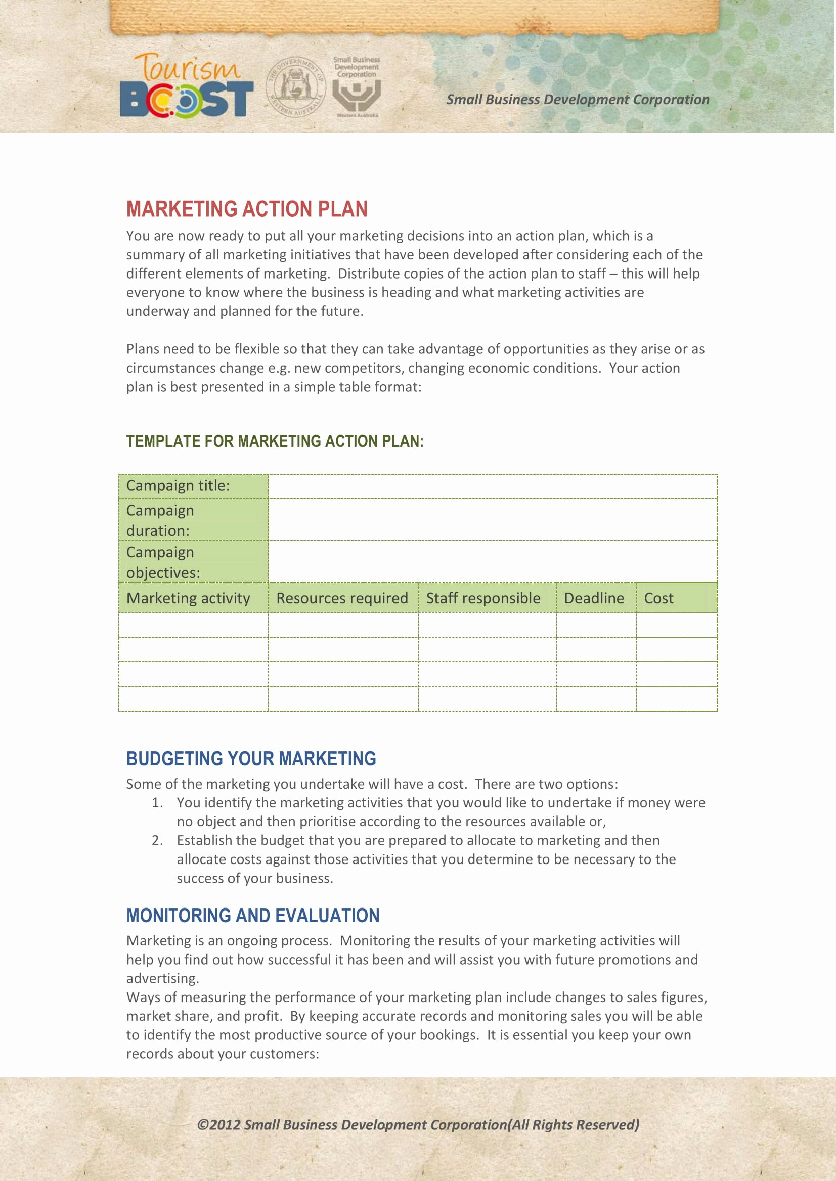Marketing Action Plan Templates Elegant 10 Marketing Action Plan Examples & Templates