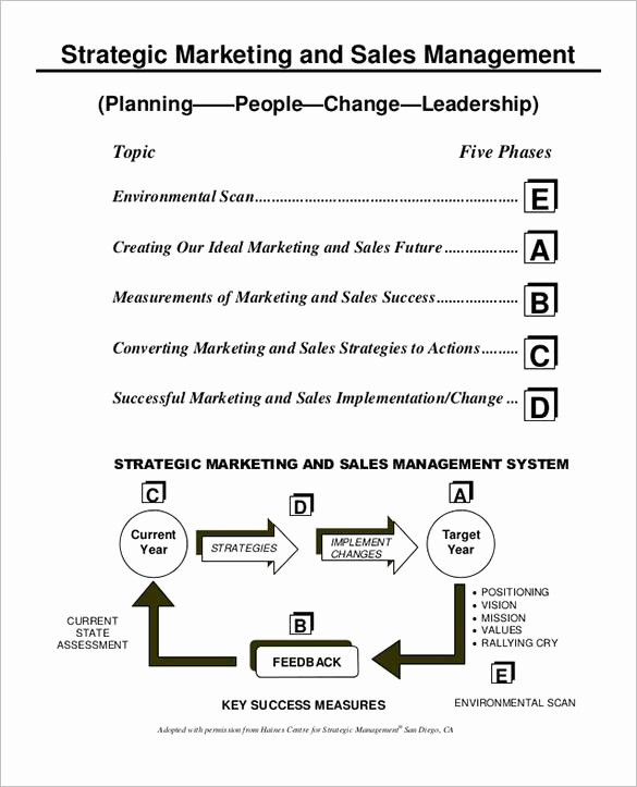 Marketing Action Plan Templates New Sales Action Plan Template – 11 Free Word Excel Pdf