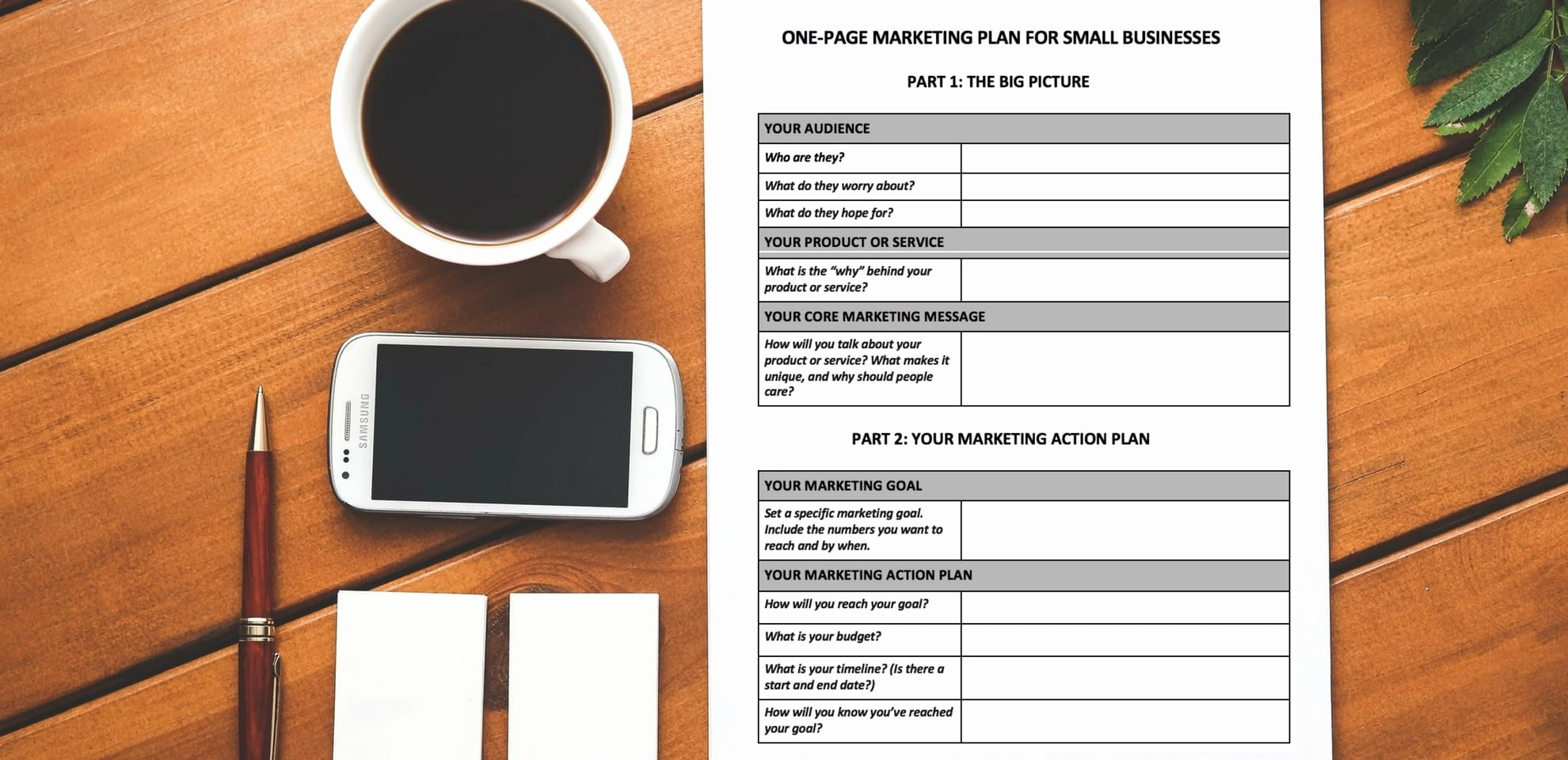 Marketing Plan Outline Template Inspirational [free Download] A E Page Marketing Plan Template You Ll