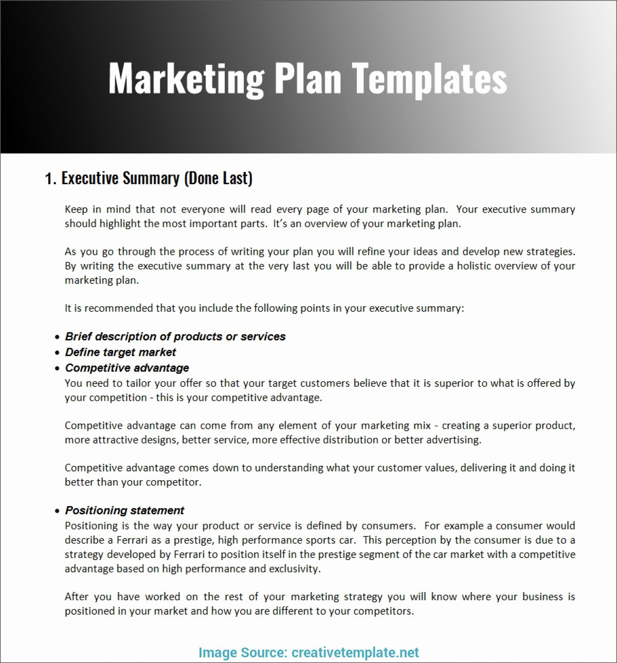 Marketing Plan Outline Template Lovely 13 Restaurant Marketing Plan Examples Pdf Word Pages