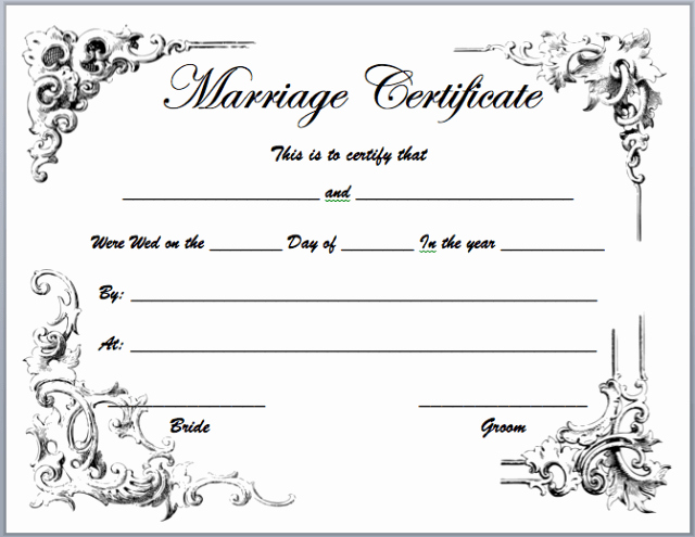 Marriage Certificate Template Microsoft Word Beautiful Aashe Page 3 Of 18 E Stop for Printable