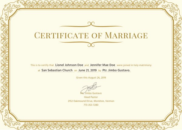 Marriage Certificate Template Microsoft Word New How to Make A Certificate In Microsoft Word – Tutorial