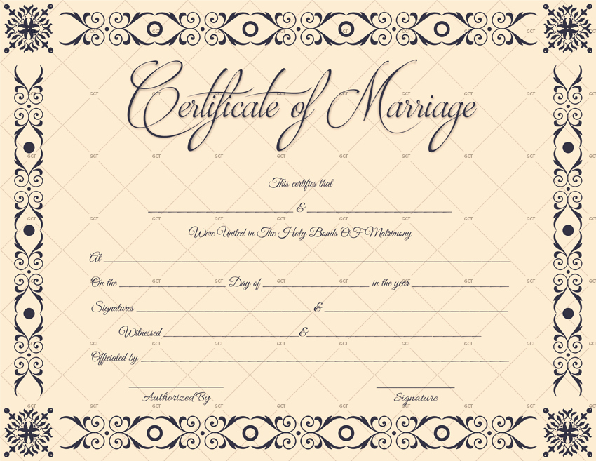 Marriage Certificate Template Microsoft Word Unique Marriage Certificate Template Microsoft Fice for Word