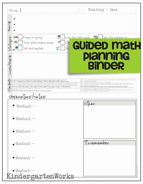 Math Lesson Plan Template Luxury How to Make Teacher Planning Work for You