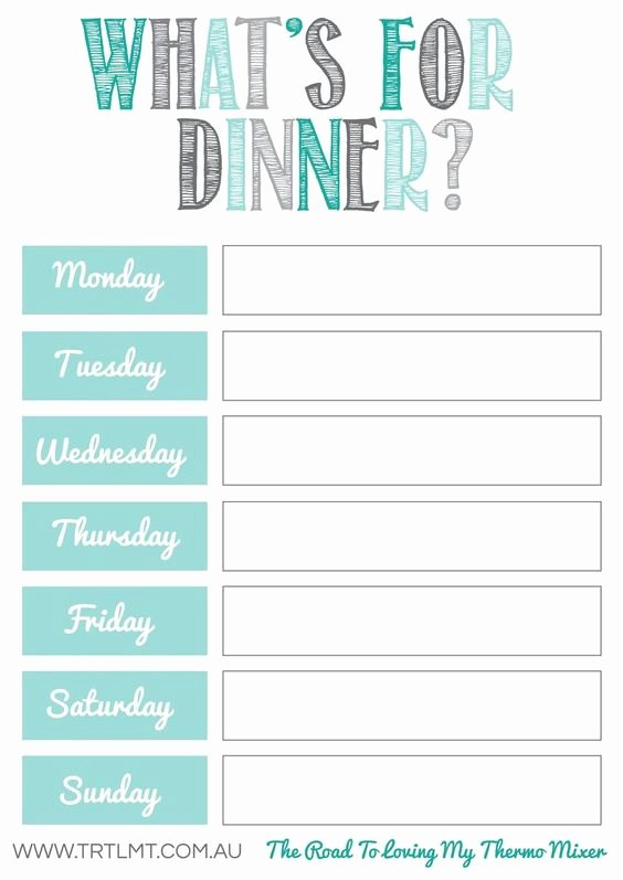 Meal Plan Template Pdf Unique 10 Free Weekly Meal Plans – Tip Junkie