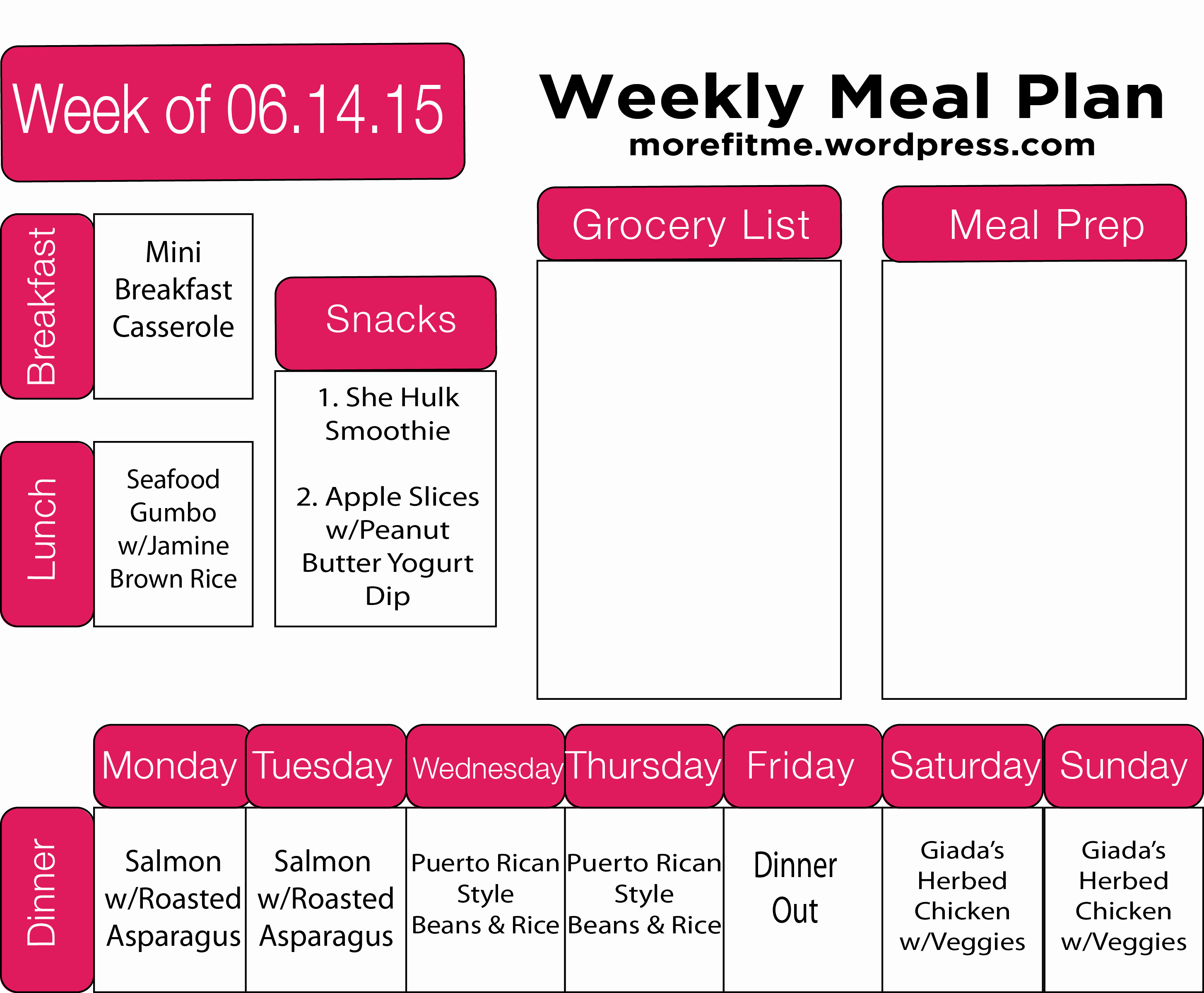 Meal Plan Template Word Best Of More Fit Me – My Journey to A Healthy Lifestyle