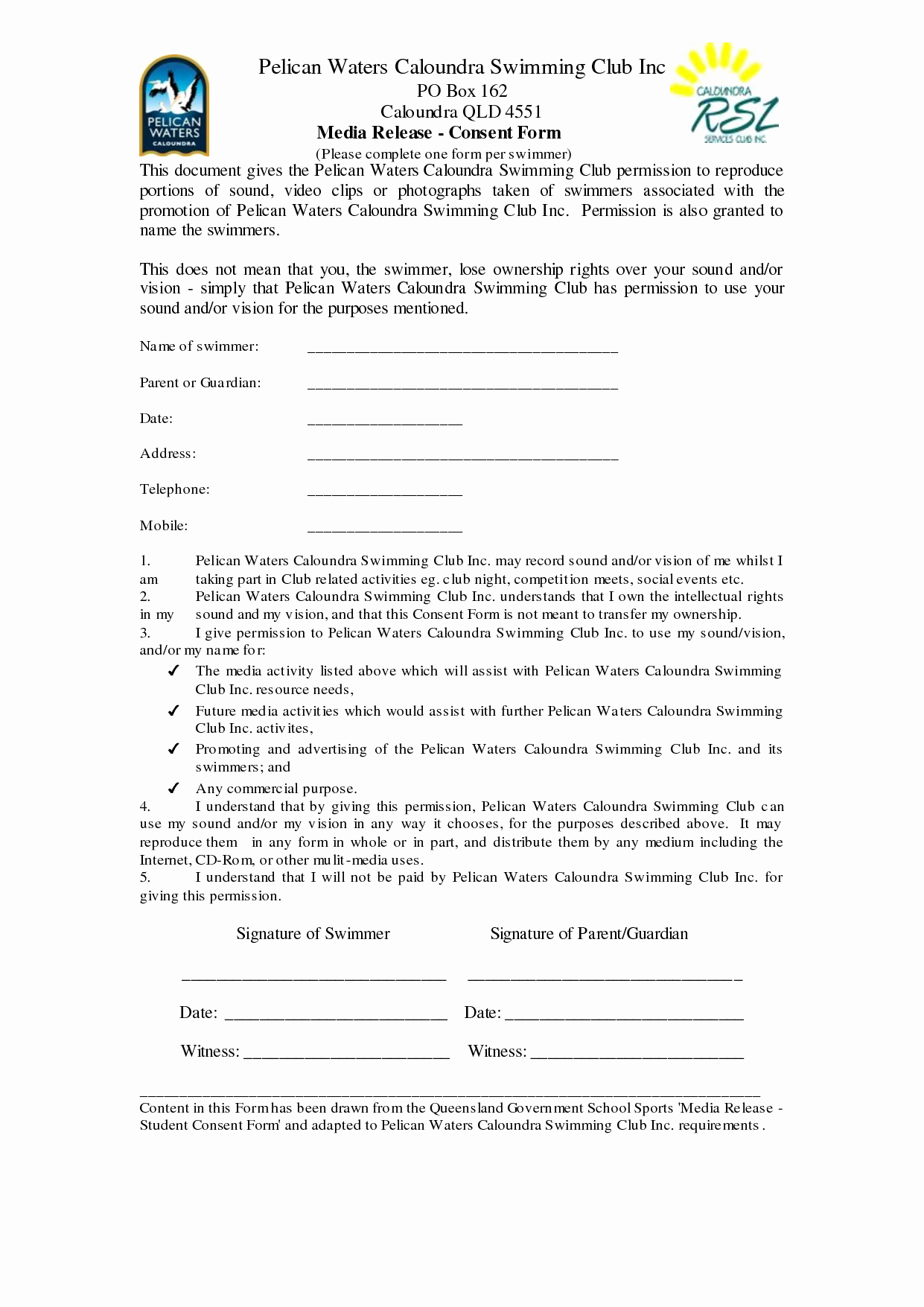 Media Release form Template Awesome 29 Of social Media Release form Template