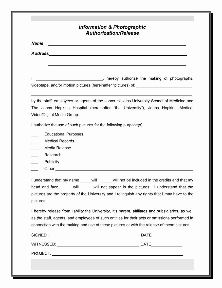Media Release form Template Inspirational Media Production Website Templates 2019