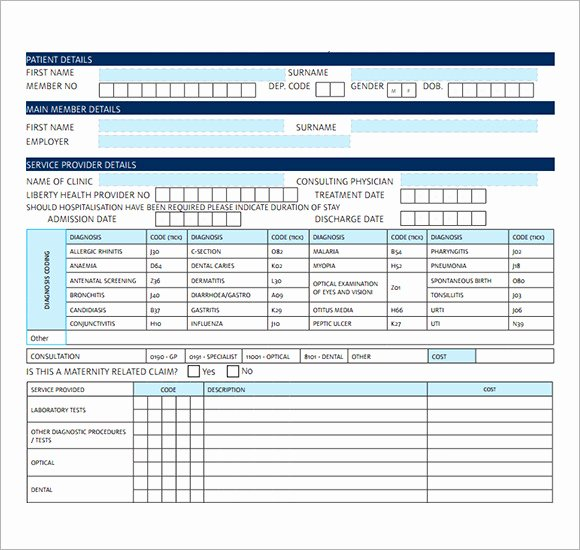 Medical Bill Template Pdf Beautiful Free 19 Medical Receipt Templates In Pdf
