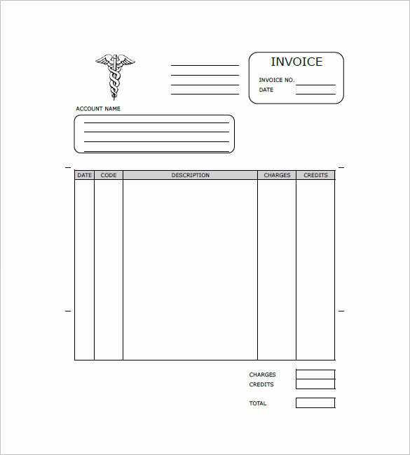 Medical Bill Template Pdf Elegant Medical and Health Invoice Template 15 Free Word Excel