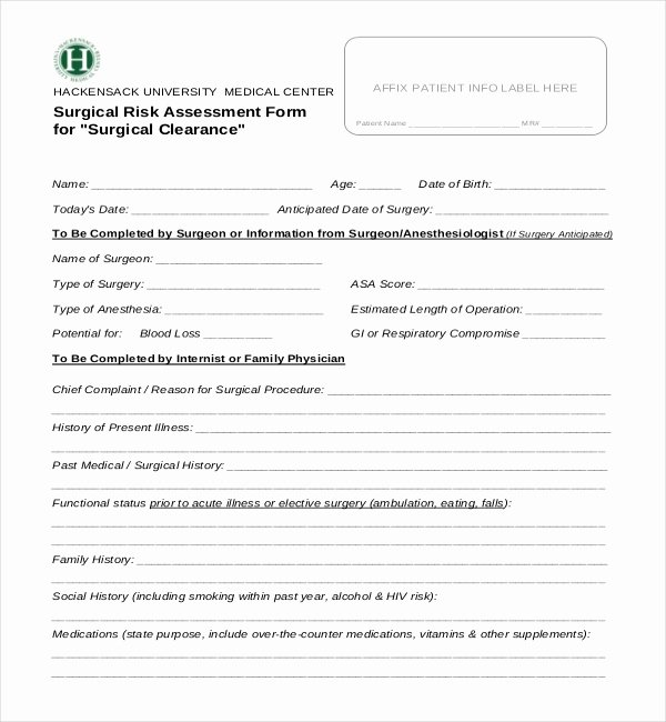 Medical Clearance Letter Template Awesome Free 27 Sample Medical Clearance forms