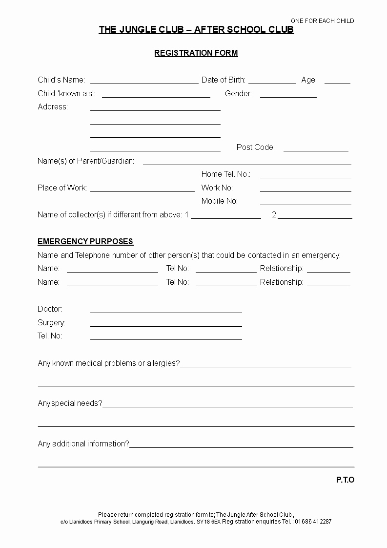Medical Consent form Template Fresh Printable Medical Consent form