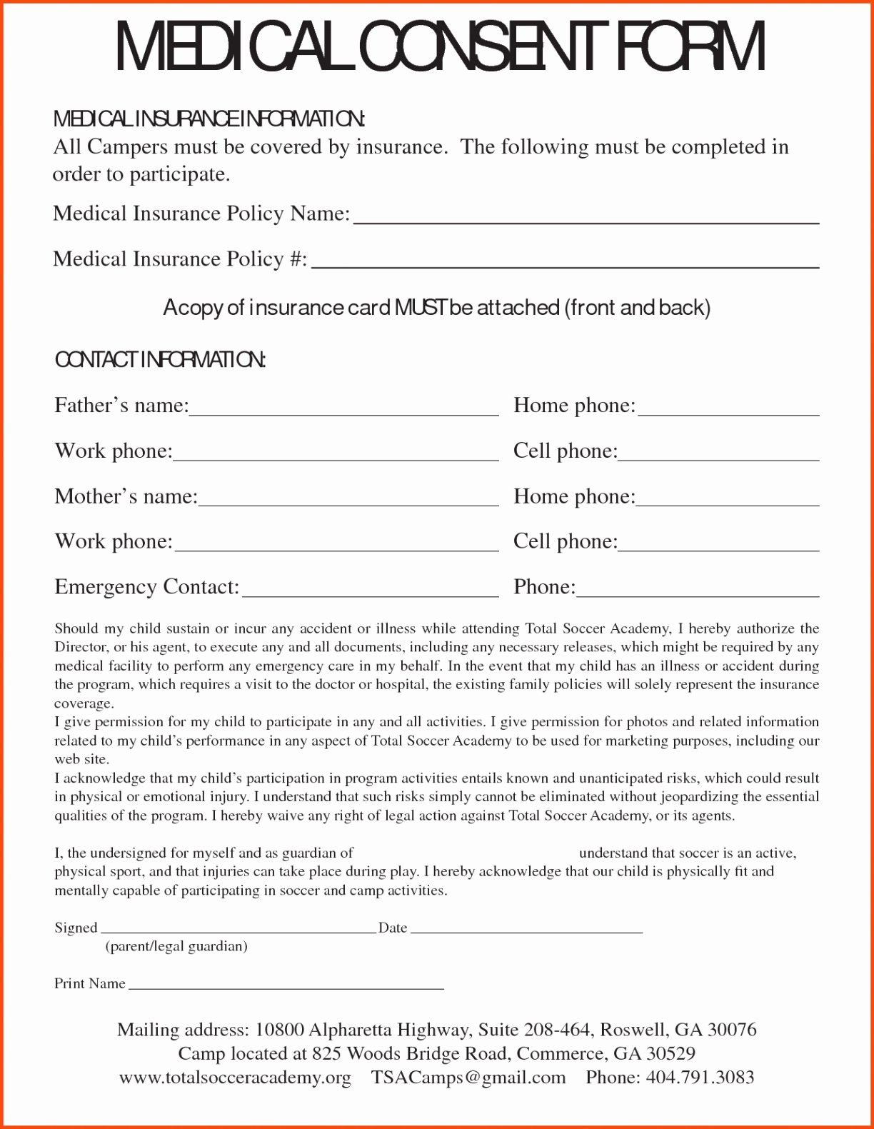 Medical Consent form Template Lovely Medical form Templates Free Resume Referral Template Word