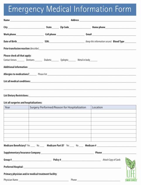 Medical Record Request Template Unique Download Medical Records Request form for Free formtemplate