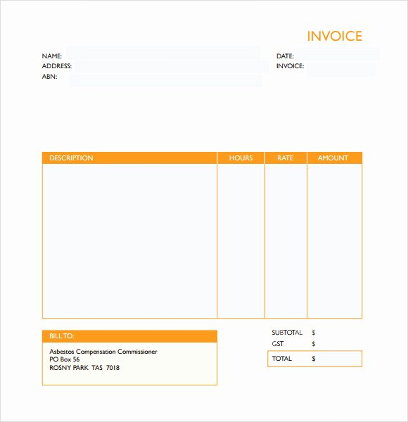 Medical Records Invoice Template New Medical Invoice Template 10 Free Word Pdf Excel format