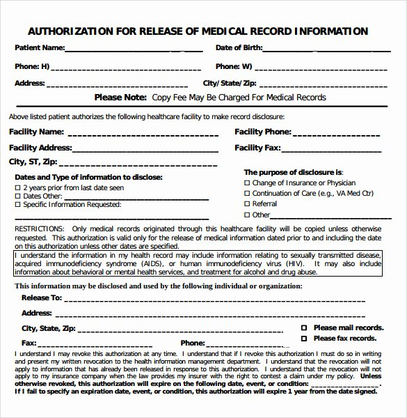 Medical Records Request form Template Best Of Sample Medical Records Pdf 9 Latest Tips You Can Learn when
