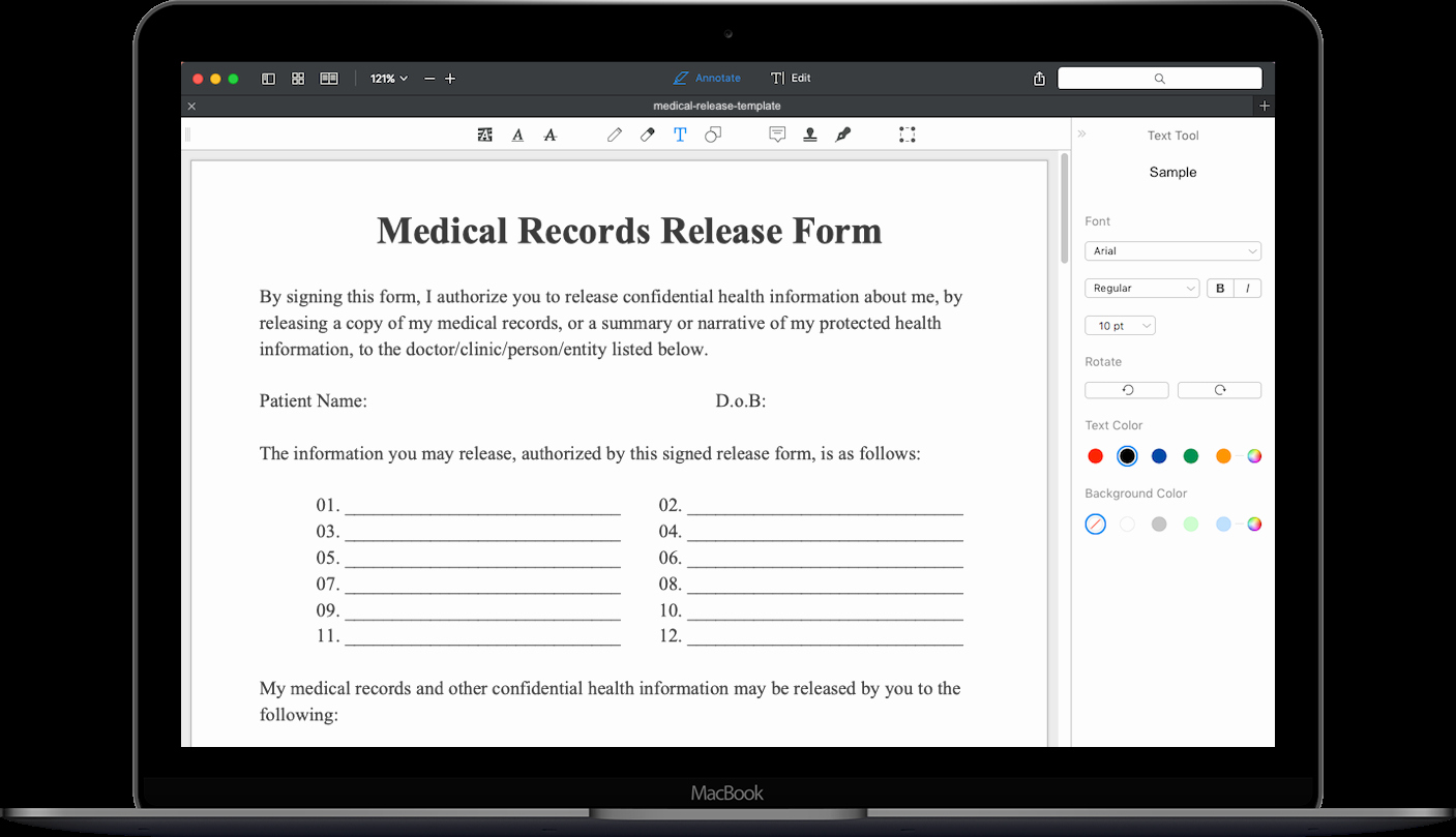 Medical Records Request form Template Inspirational Medical Records Request form