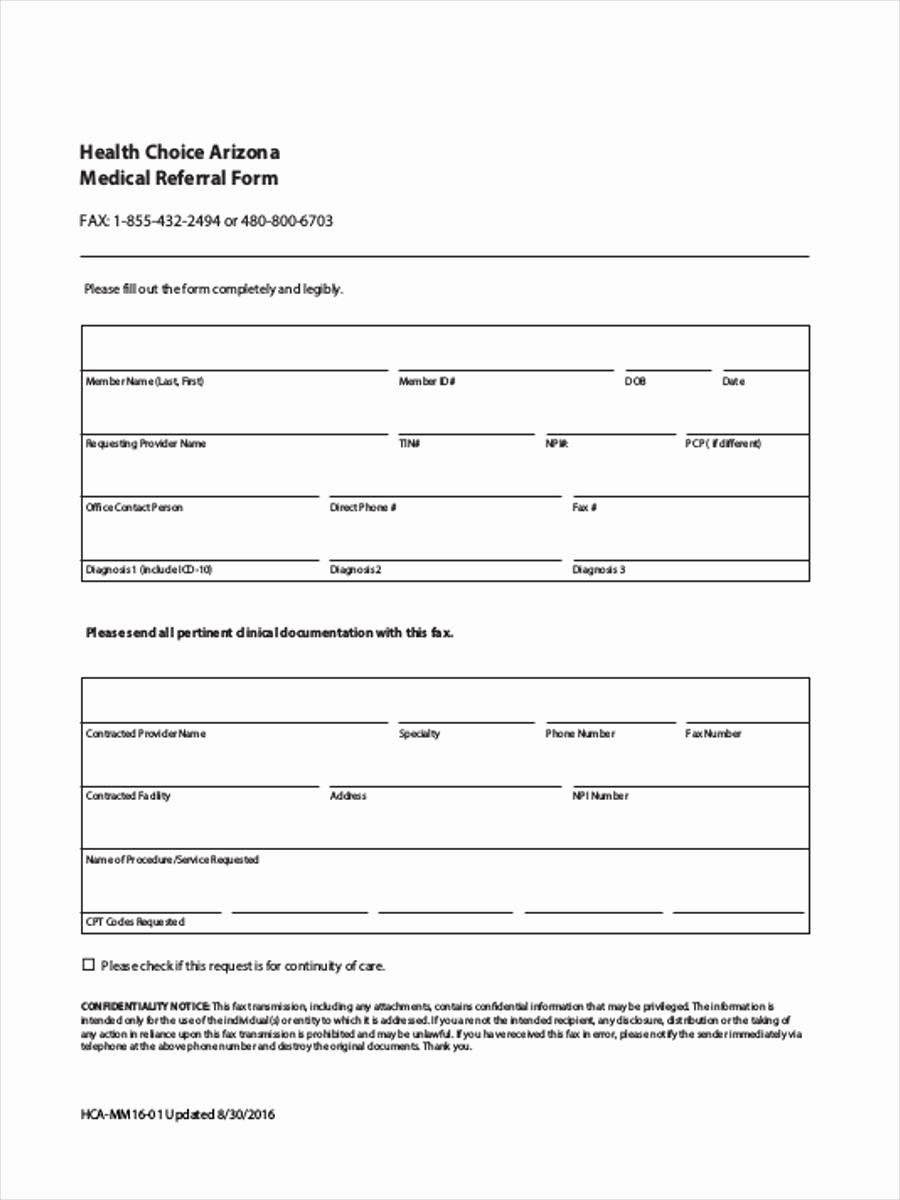Medical Referral form Templates New Medical Referral form 8 Free Documents In Word Pdf