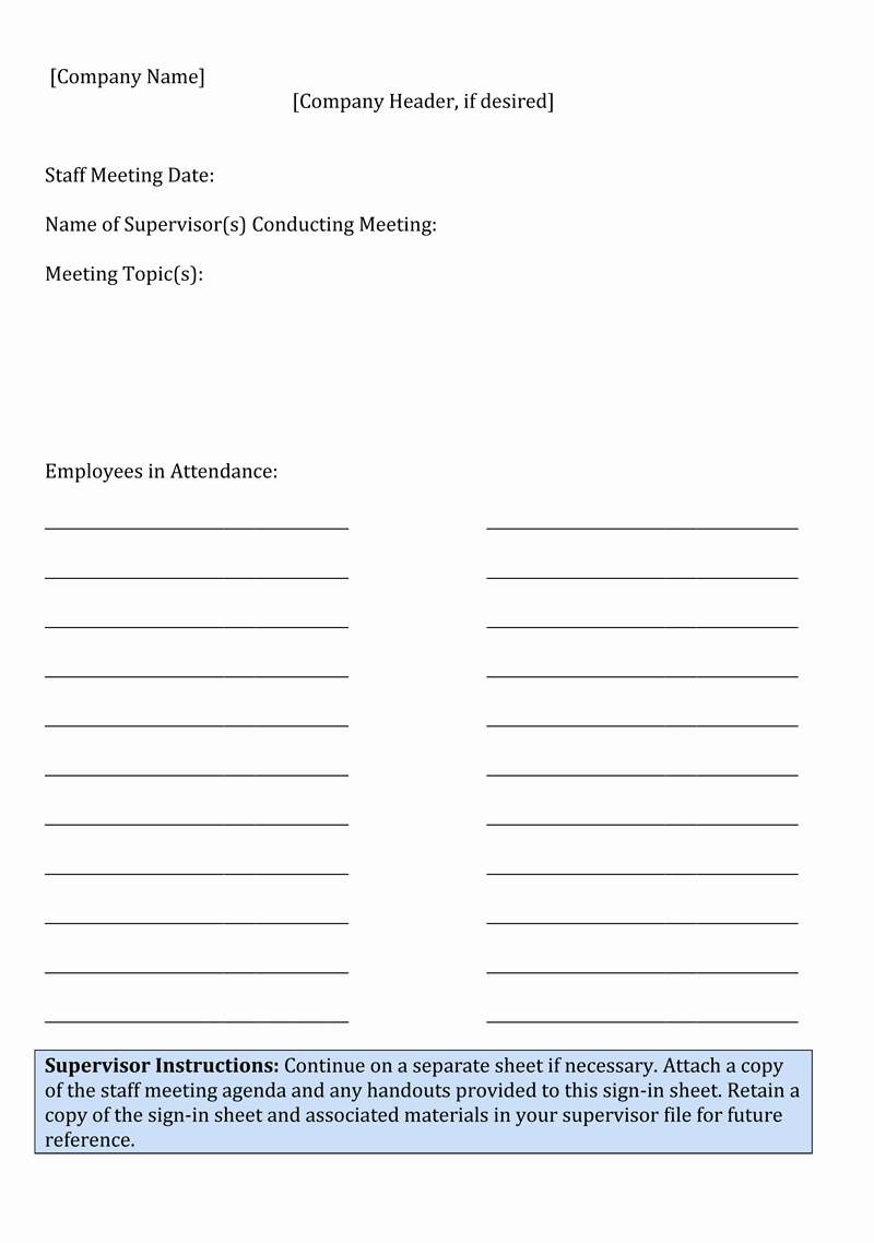 Meeting Sign In Sheet Template Inspirational Sign In Sheet Template