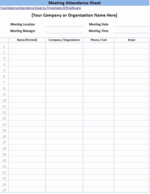 Meeting Sign In Sheet Template Lovely Printable Sign In Sheet Templates