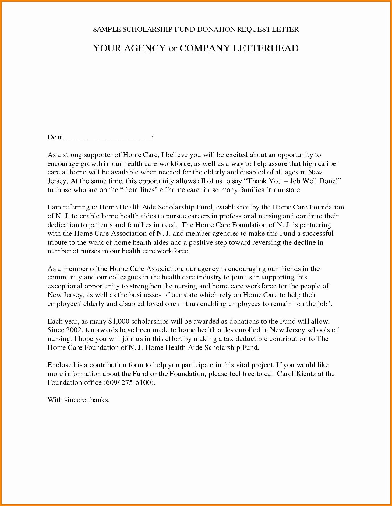 Memorial Donation Letter Template Elegant Memorial Donation Letter Template Samples