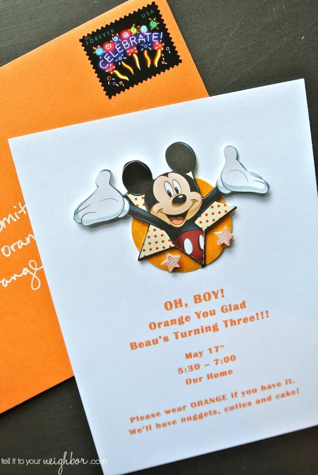 Mickey Mouse Invitations Template Elegant Easy Mickey Mouse Invite Free Template Tell It to