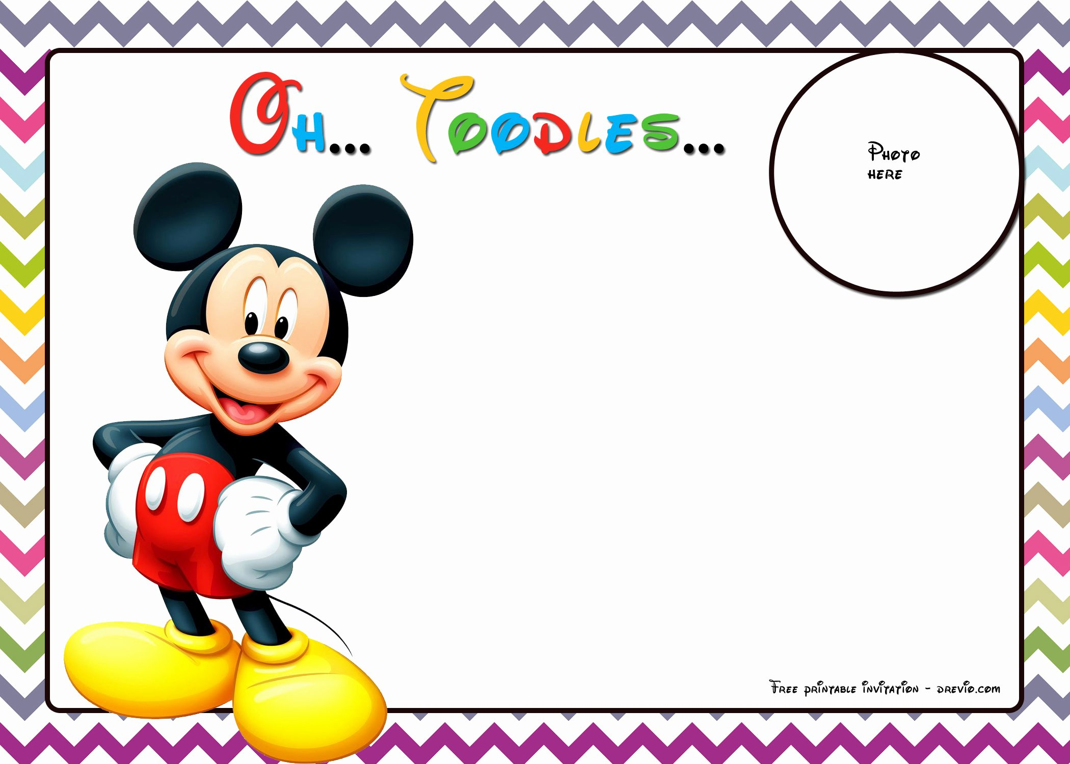 Mickey Mouse Invitations Template Inspirational 25 Incredible Mickey Mouse Birthday Invitations