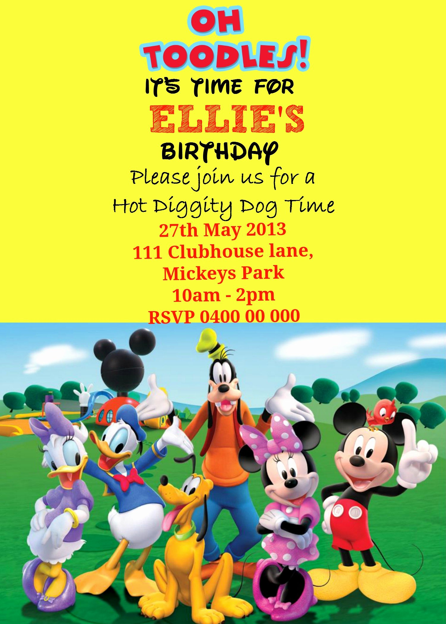 Mickey Mouse Invitations Template Luxury How to Make A Mickey Mouse Digital Invitation with Free
