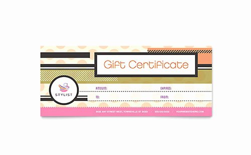 Microsoft Publisher Certificate Template Fresh Gift Certificate Templates Indesign Illustrator Publisher