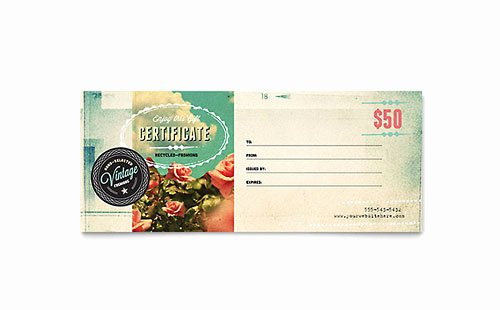Microsoft Publisher Certificate Template Inspirational Gift Certificate Templates Indesign Illustrator