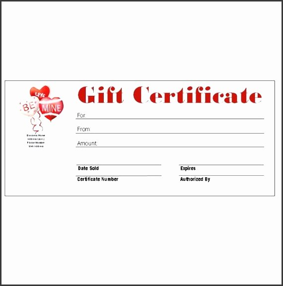 Microsoft Publisher Certificate Template Lovely 7 Make Your Own Gift Voucher Template Free