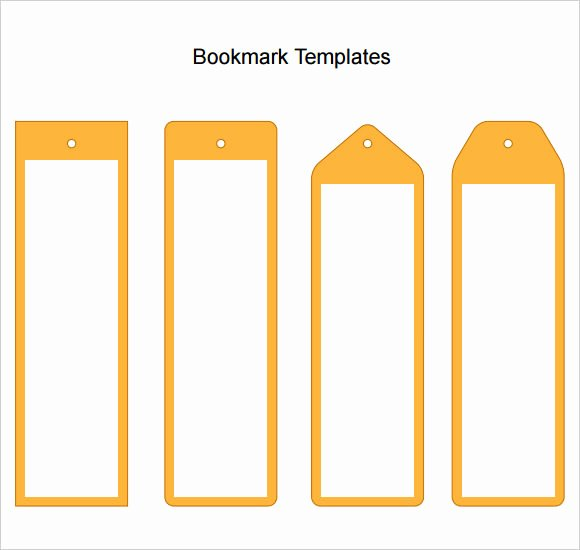 Microsoft Word Blank Bookmark Template Best Of Bookmark Template Word