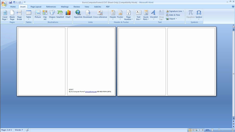 Microsoft Word Blank Bookmark Template Elegant Avery Bookmark Template