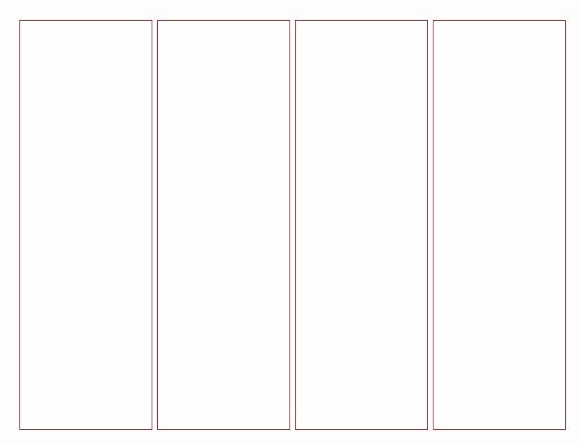 Microsoft Word Blank Bookmark Template Fresh Blank Bookmark Template for Word