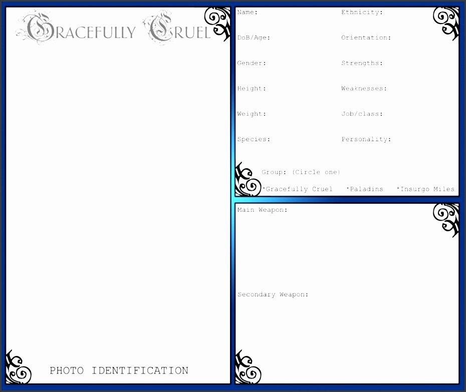Microsoft Word Outline Template Elegant 9 Ms Word Biography Template Sampletemplatess