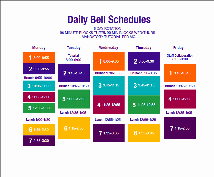 Middle School Schedule Template Awesome Quotes About Block Scheduling 26 Quotes