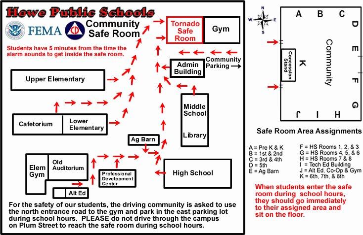 Middle School Schedule Template Fresh Howe Public Schools Site Map