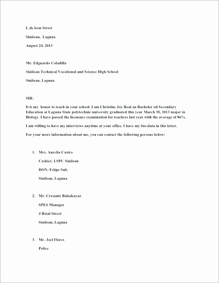 Military Letter Of Recommendation Template New Military Letter Of Re Mendation Template – Automotoreadfo