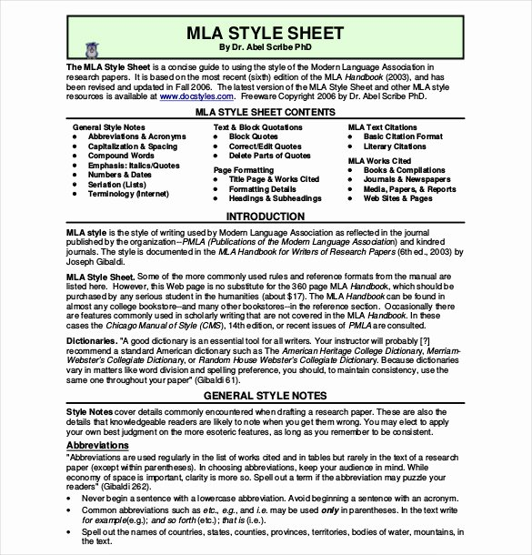 Mla Cover Page Template Unique 15 Mla Cover Sheet Templates – Free Sample Example