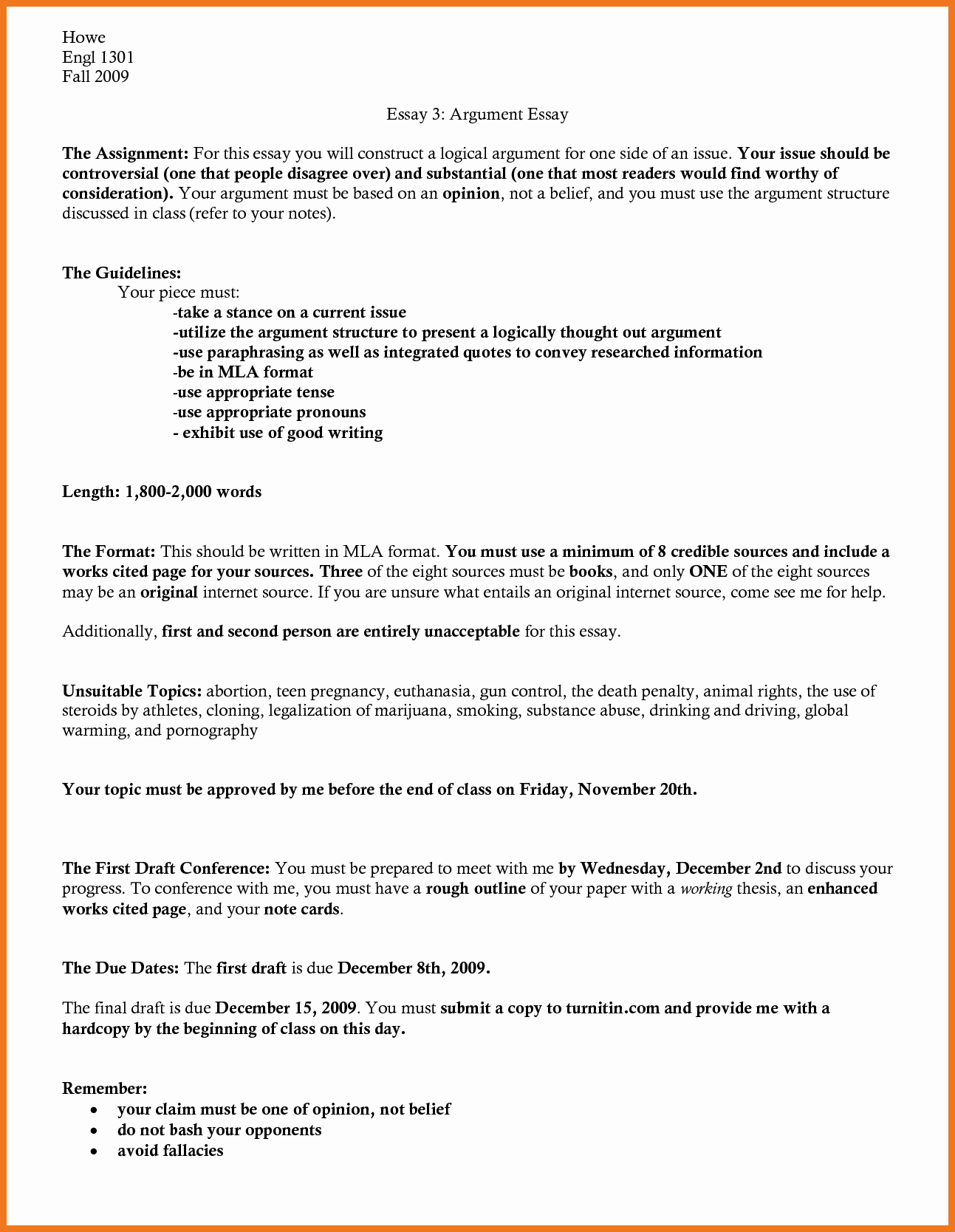 Mla format Outline Template Fresh 0 1 Mla formatted Outline Example